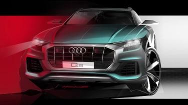 Audi Q8 teaser - front