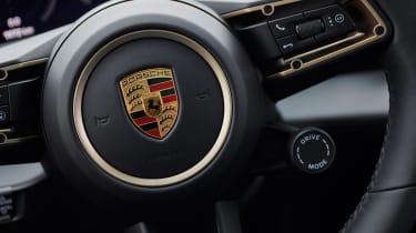 Porsche Taycan Turbo S - Porsche badge