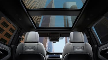 New 2019 Range Rover Evoque sun roof