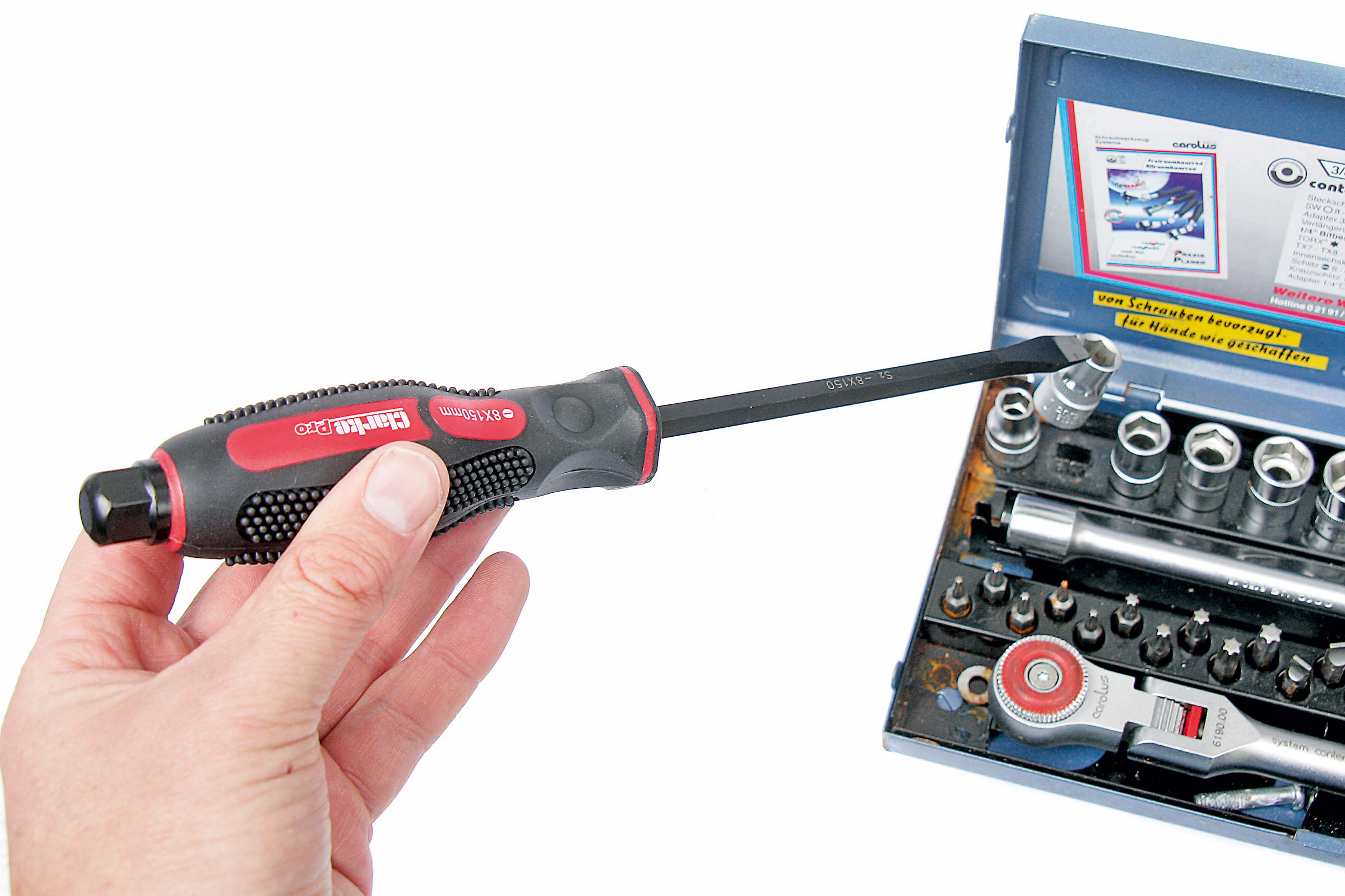 Magnetic Tip Precision Screwdriver Set Torx Phillips Pozi Slotted Bracket 18 Pce