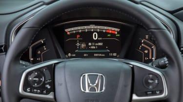 New Honda CR-V - dials