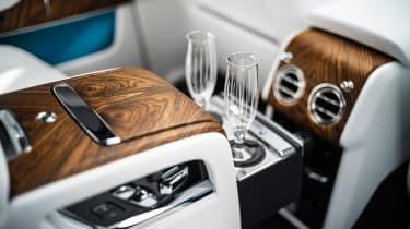 Rolls-Royce Cullinan SUV - glasses