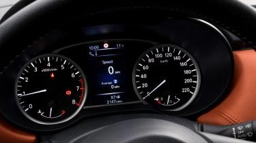 New Nissan Micra - dials