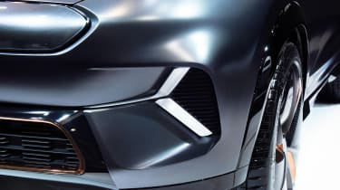 Kia Niro EV - CES front detail