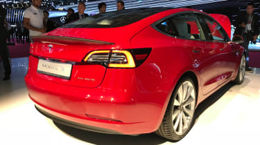 Tesla Model 3 Performance - Paris rear
