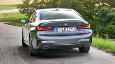 BMW 330e - rear