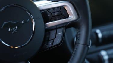 Ford Mustang - steering wheel detail