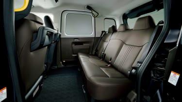 Toyota JPN Taxi interior