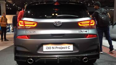 Hyundai i30 N Project C - Frankfurt full rear