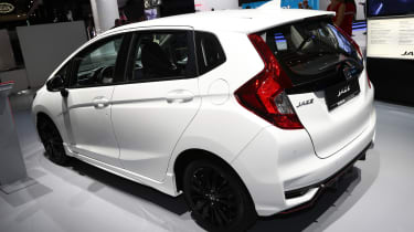 Frankfurt - Honda Jazz facelift - rear