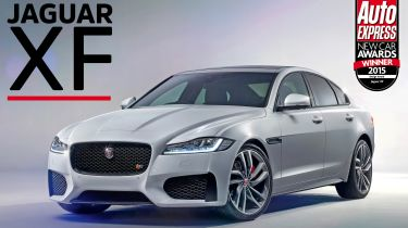 Jaguar XF - awards
