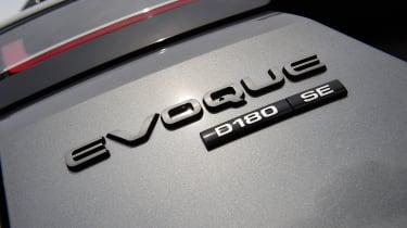 Range Rover Evoque badge