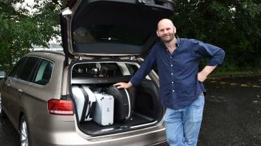 Long-term test review Volkswagen Passat Estate - second report full boot