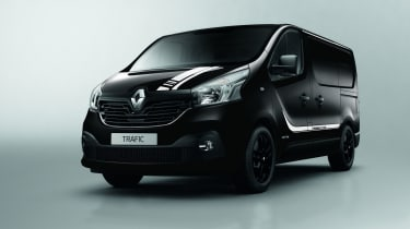 Renault trafic premier edition front 3/4