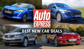 Best new car deals - header