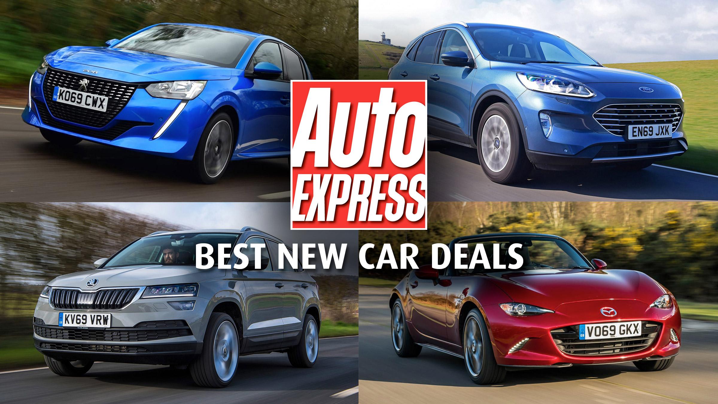 Best New Car Deals 2020 Best Pcp Finance Deals Auto Express