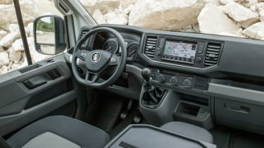 VW Crafter 4motion - interior