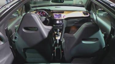 DS 3 hatchback 2016 - DS Performance interior reveal