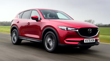 Mazda CX-5 - front tracking