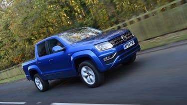 Volkswagen Amarok pick-up 2016 - front tracking