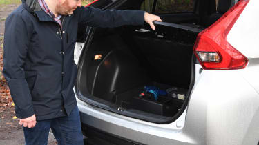 Mitsubishi Eclipse Cross long-term test - boot