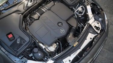 Mercedes E-Class Cabriolet - engine