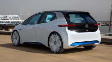 Volkswagen I.D. - rear action