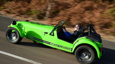Long-term test review: Caterham 270S driven - side