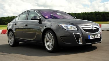 Vauxhall Insignia VXR saloon front