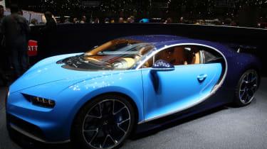 Bugatti Chiron Geneva 2016 - Side Three Quarters