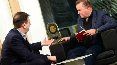 Jaguar Land Rover visit - trophy