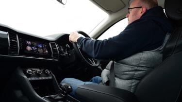 Skoda Kodiaq long termer - second report driving