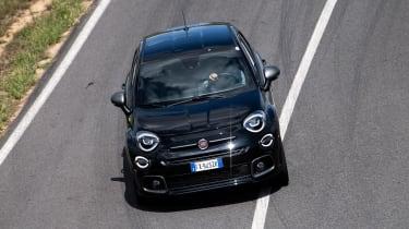 Fiat 500 X Sport - front cornering