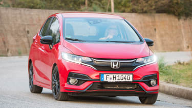 Honda Jazz - front cornering