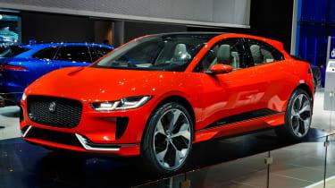 Jaguar I-Pace Geneva show - front