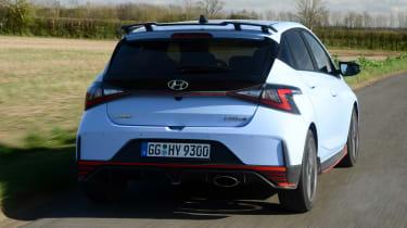Hyundai i20 N - rear