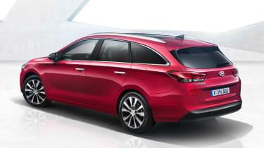 Hyundai i30 Tourer - rear