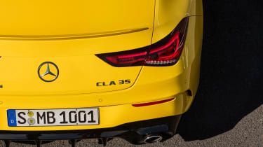 Mercedes-AMG CLA 35 - rear detail