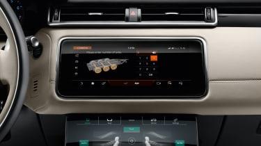 Range Rover Velar - studio infotainment