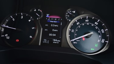 Toyota Land Cruiser - dials