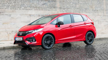 Honda Jazz - front static