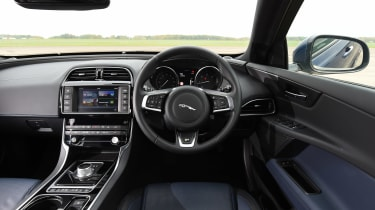 Jaguar XE long-termer - interior