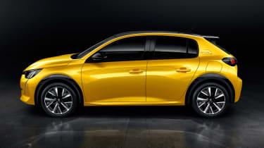 Peugeot 208 - side static