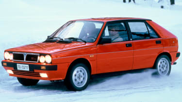 Best cars of the 80s: Lancia Delta Integrale