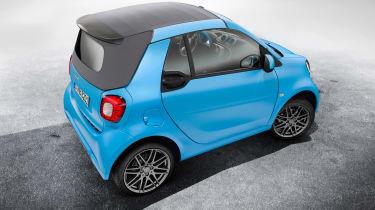 Smart ForTwo Cabrio Brabus roof closed
