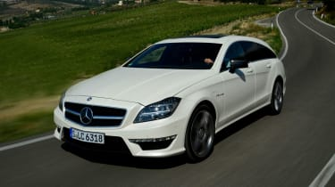 Mercedes CLS 63 AMG front tracking