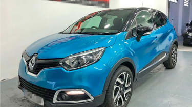repaired renault captur