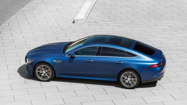 Mercedes-AMG GT 4-Door 2021 facelift blue - side