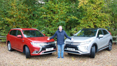 Mitsubishi Eclipse Cross - long termer second report header