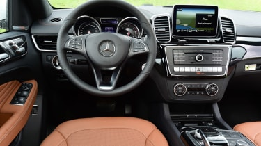 Mercedes GLE Coupe 2015 interior